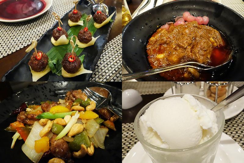 到着した日の夕食は、ここでタイ料理を堪能しました