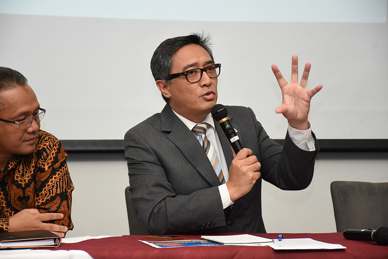 在日インドネシア共和国大使館 公使参事官 エコ・ジュノル氏