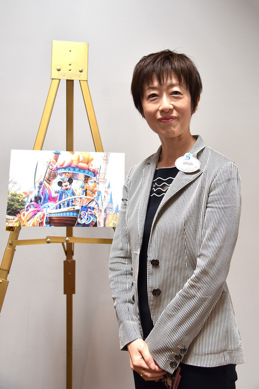 新パレード「ドリーミング・アップ!」の演出を担当したショー開発部第1ショー開発グループ有賀美智氏