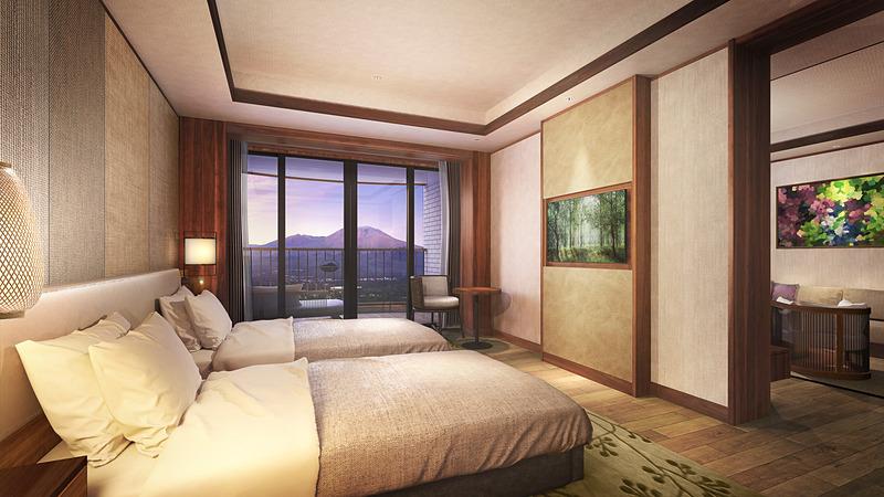 プリンス バケーション クラブ 軽井沢浅間のファミリールームのベッドルームイメージ