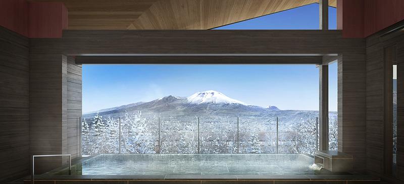 プリンス バケーション クラブ 軽井沢浅間の温泉棟の露天風呂イメージ
