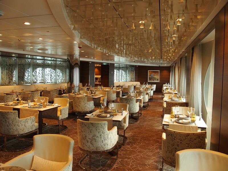 スイート等級専用の特別レストラン「LUMINAE」