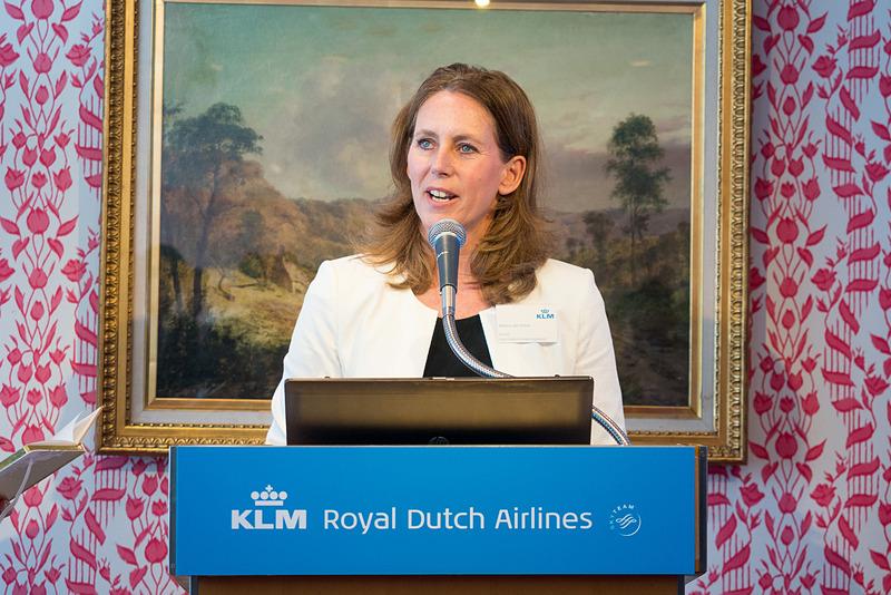 KLMオランダ航空 機内プロダクト&サービスエンジニアリング ディレクター マルチーヌ・ファン・ストルン氏