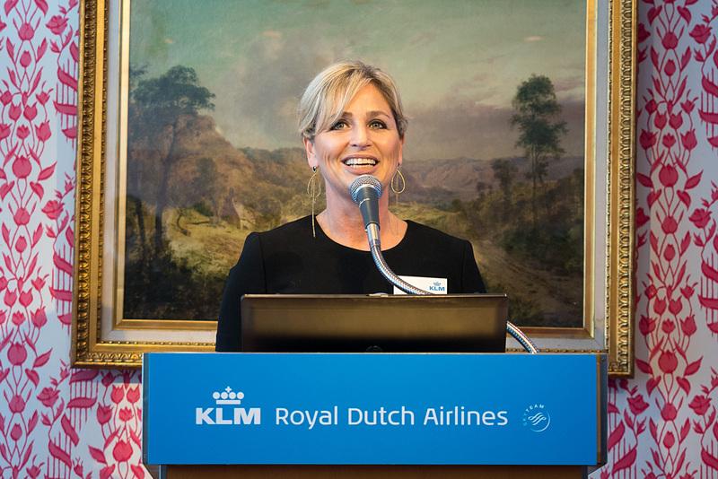 KLMオランダ航空 機内プロダクト&サービスエンジニアリング プロダクトマネジャー マドレーヌ・ブラウン氏