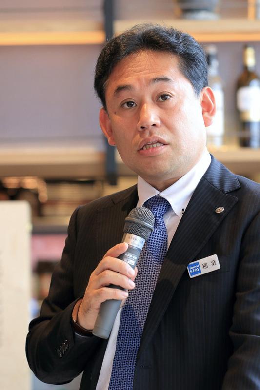 東急ステイサービス株式会社 専務取締役 稲葉章司氏