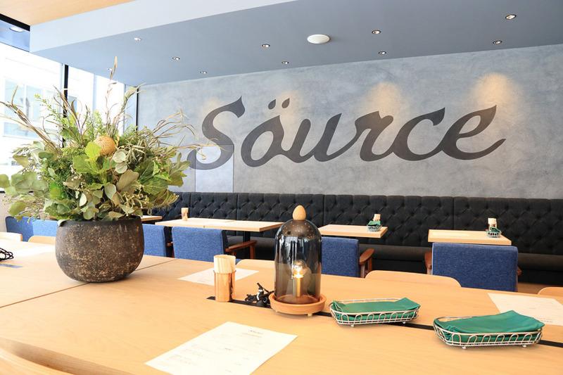 店名の「Source」は「源(みなもと)」を意味している