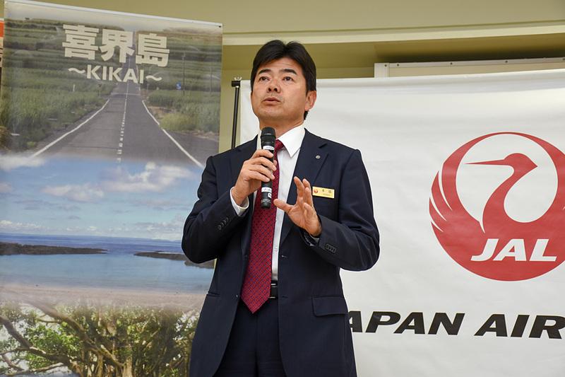 日本航空株式会社 執行役員 路線統括本部 国内路線事業本部長 本田俊介氏