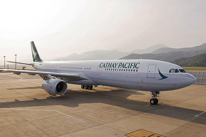 キャセイパシフィック航空が9月の月曜と金曜に成田~香港線を増便