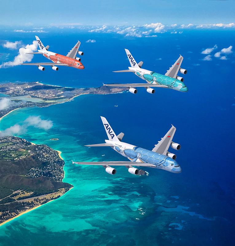 ANAが2019年春に就航予定のエアバス A380型機のデザインやサービスなどを発表