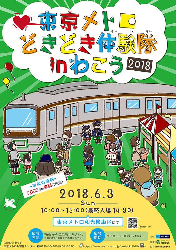 東京メトロが和光車両基地でイベントを開催する