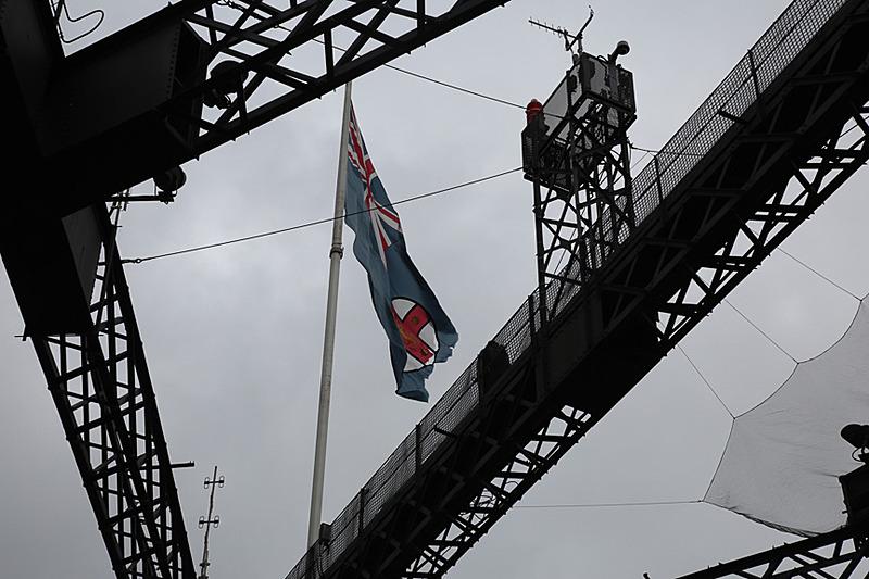旗が見える場所が最上部だ