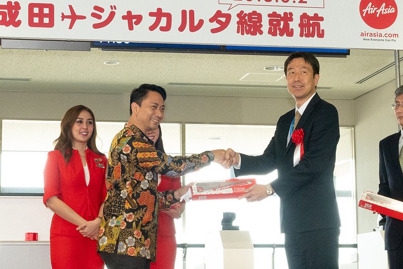 同じく成田国際空港株式会社 エアライン営業部部長 高橋広治氏へ