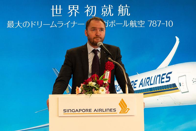 関西エアポート株式会社 専務執行役員 最高商業責任者(航空担当)のグレゴリー・ジャメ氏