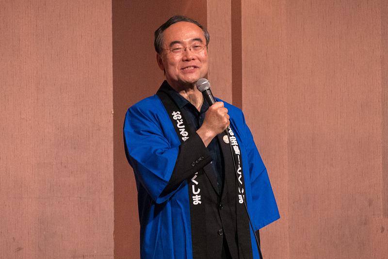 徳島県知事 飯泉嘉門氏