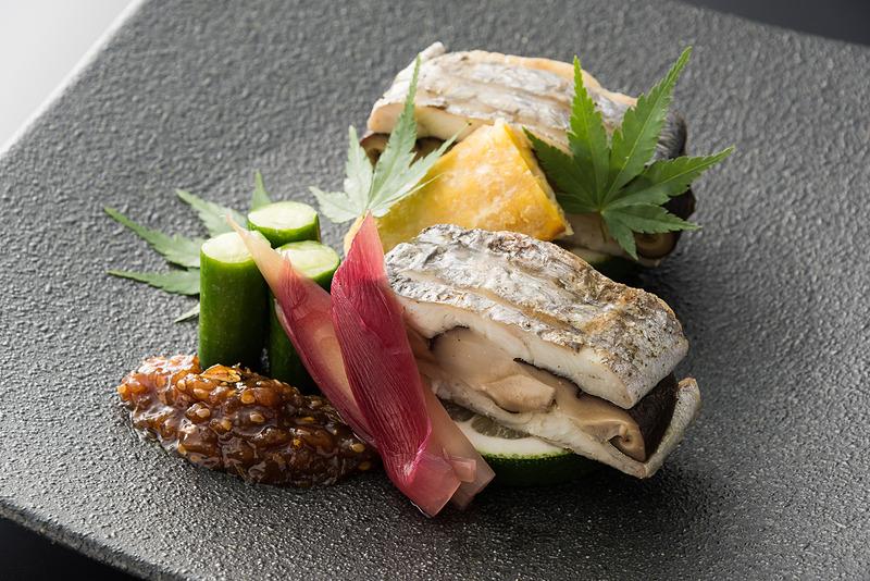大分県産 香菇の太刀魚挟み焼き