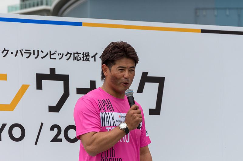 野球は東京2020大会から正式競技に復帰。侍ジャパンを率いる稲葉監督はプレッシャーのすごさを笑いを交えながら語っていた