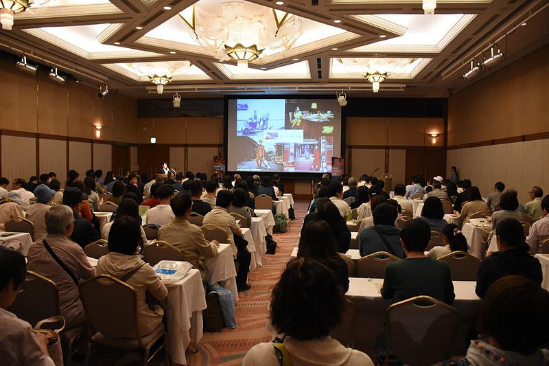 台湾観光協会 大阪事務所は関空旅博2018で海外旅行セミナーを行なった