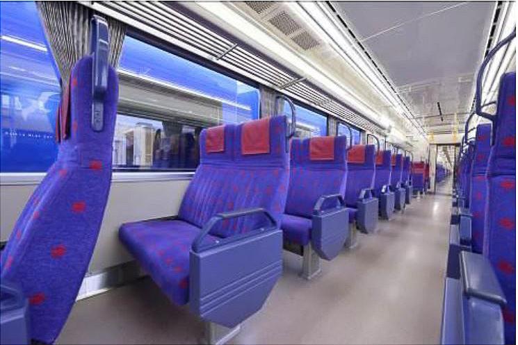 下り「ウィング号」は、座席指定券を購入することで、平日夕方のラッシュ時間帯に品川駅から座って乗車できる列車