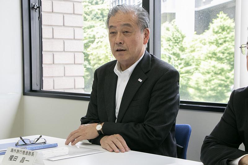 一般社団法人日本旅行業協会 海外旅行推進部 部長 權田昌一氏