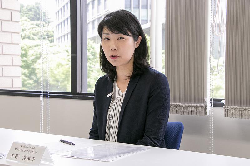株式会社JTBグローバルマーケティング&トラベル 総務部 総務担当マネージャー 大森真美子氏