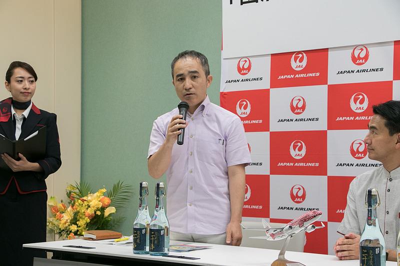 株式会社久米島の久米仙 専務取締役 島袋昭彦氏