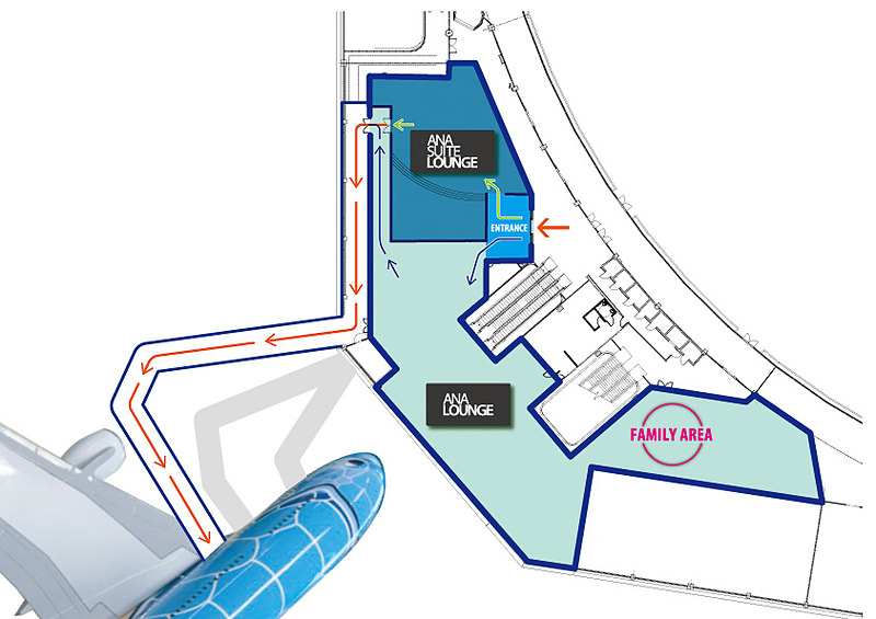 ダニエル・K・イノウエ空港のエバ・コンコース(ゲートC1~C9)のC4ゲートの上階、3階部分に開設する