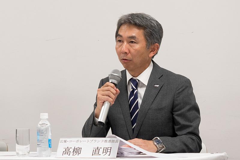 ANAホールディングス株式会社 広報・コーポレートブランド推進部長 髙柳直明氏