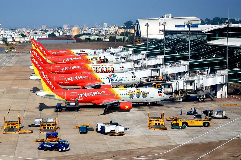 ベトジェットではA320/A321型機を60機保有している。エコノミークラスのワンクラスで、シートは革張り(画像提供:ベトジェット)