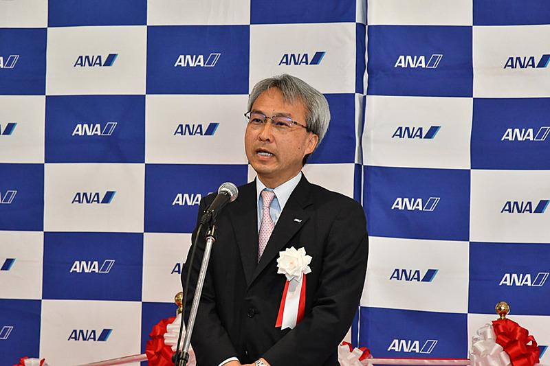 全日本空輸株式会社 上席執行役員 九州支社長の大人形綱邦氏