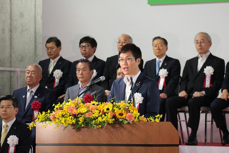 国土交通大臣政務官 秋本真利氏