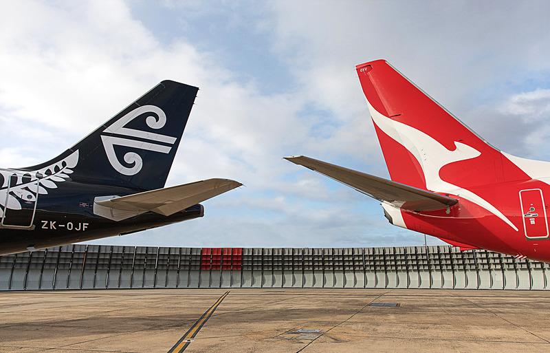 カンタス航空とニュージーランド航空がコードシェア契約を締結