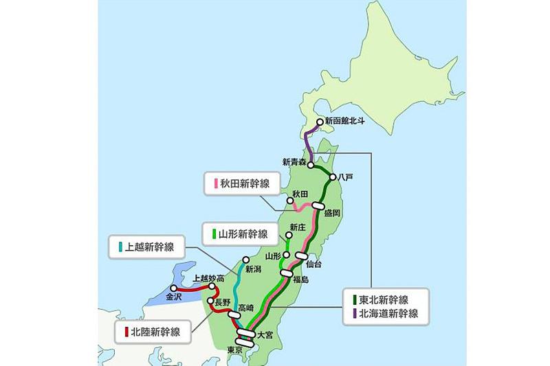 JR東日本、JR北海道、JR西日本はSuicaなどの交通系ICカードで東北・北海道、上越、北陸、山形、秋田新幹線にチケットレスで乗車できるサービスを、2019年度末を目標に導入する