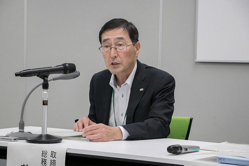東日本高速道路株式会社 取締役兼常務執行役員 総務・経理本部長 荒川真氏