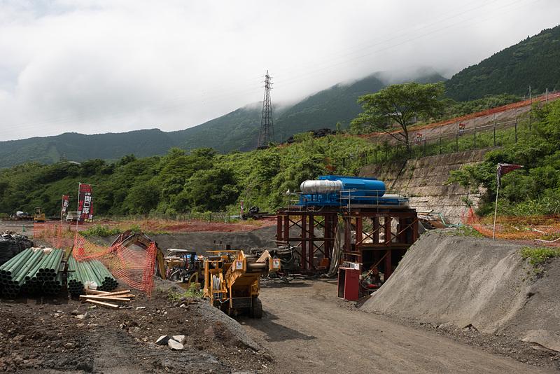 リムトンネル工事現場