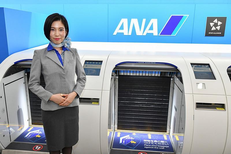 ANA福岡空港国内線チェックインカウンターがリニューアル
