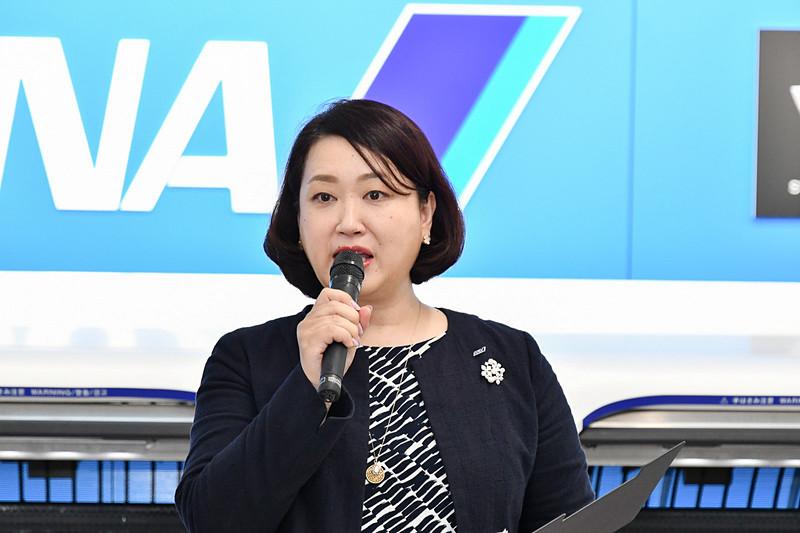 全日本空輸株式会社 空港センター 空港サポート室旅客サービス部 部長 小山田亜希子氏