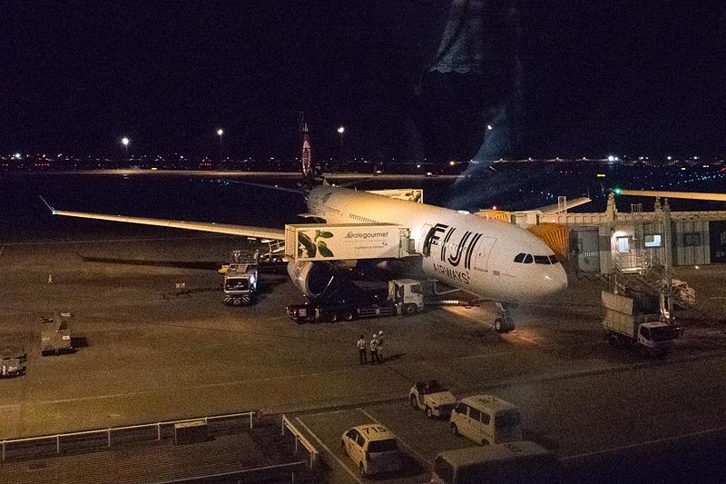 フィジー・エアウェイズのエアバス A330-200型機。初便はシグネイチャデザインの客室仕様となる「DQ-FJT」の機体が使用された