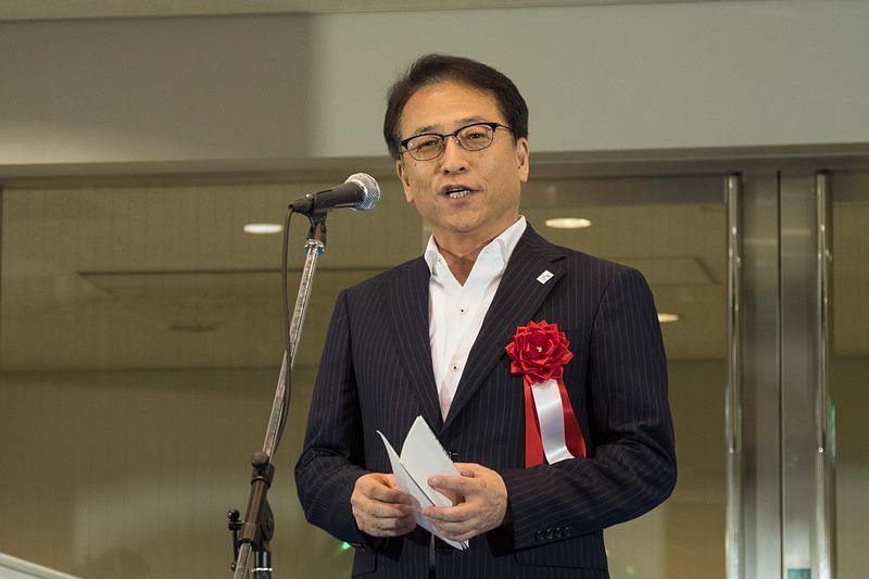 成田国際空港株式会社 取締役 営業部門長 荒川武氏