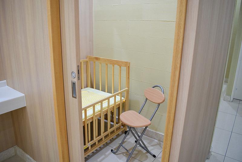 女性客からの要望の声が多かったという授乳室を新たに設けた