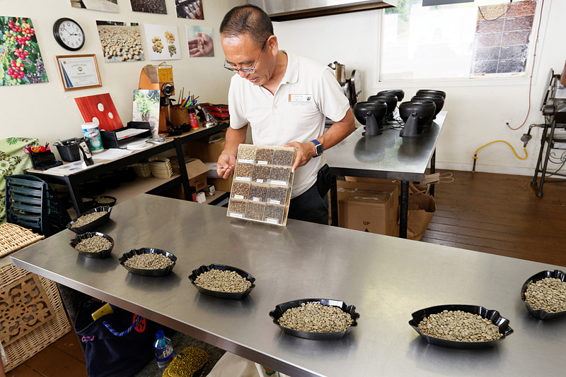 コーヒー豆の焙煎体験は1人200g分で45ドル(約4995円)