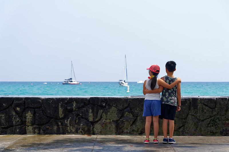 もちろんコナコーヒーだけでなく、ハワイ島第2の都市であるカイルア・コナの街も散策したい