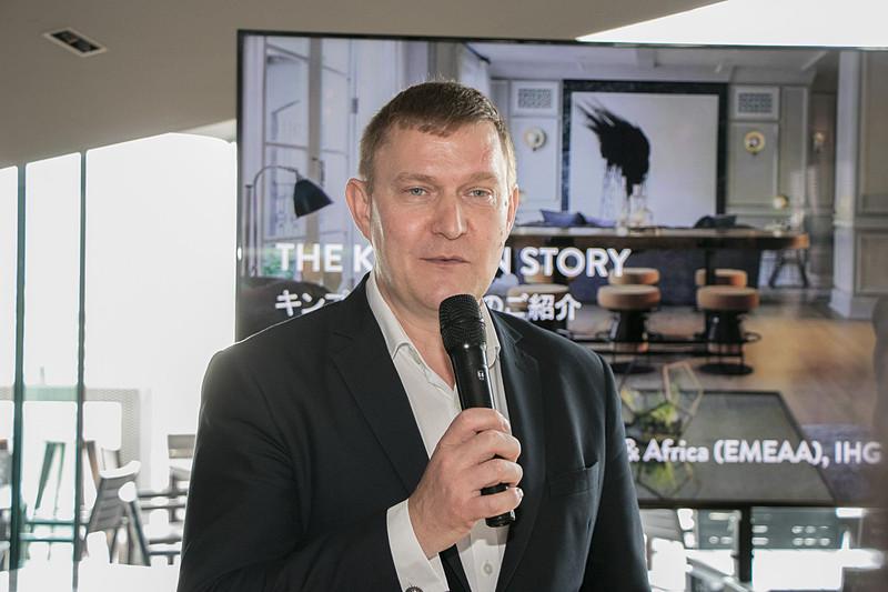 IHG ヨーロッパ中東アジア&アフリカ CEO ケネス・マクファーソン氏