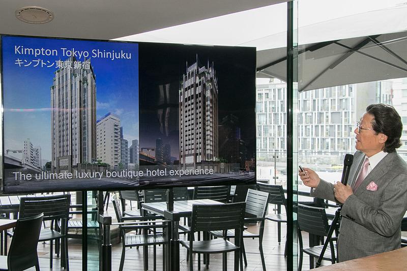 IHG・ANA・ホテルズグループジャパンとツカダ・グローバルホールディングは、2020年初頭に日本初進出のブランドを冠する「キンプトン東京・新宿」を開業