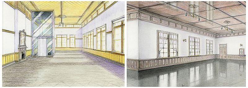 1階(左)、2階(右)の内観イメージ