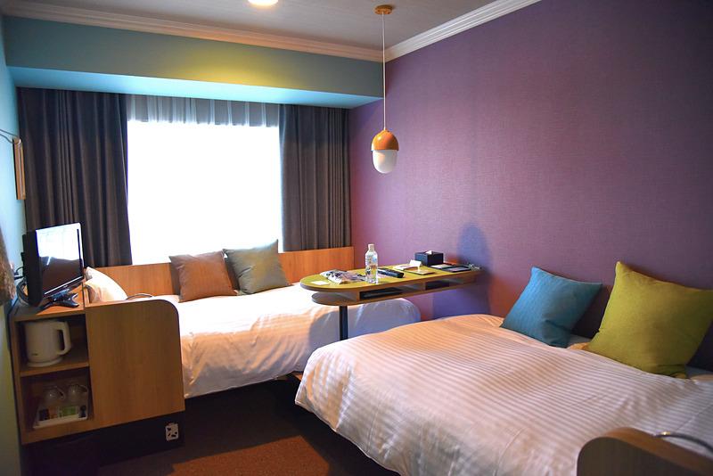 全237室中115室提供している「DANRAN Room」