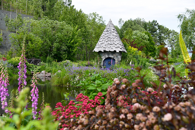 北海道ならではの庭園造りで定評のある「上野ファーム」