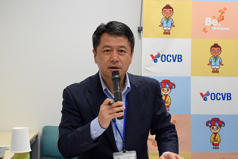 株式会社JTB総合研究所 永松毅文氏より講座の内容が紹介された