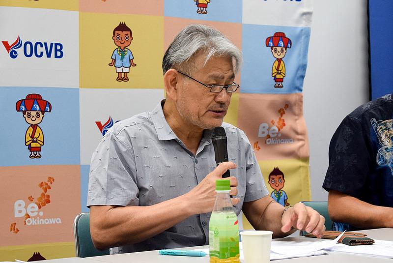 一般財団法人沖縄観光コンベンションビューロー 会長 平良朝敬氏
