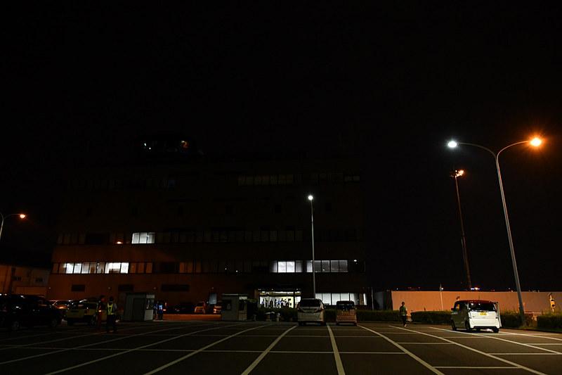 集合場所となったのは福岡空港国内線の管制塔がある大阪航空局 福岡空港事務所 庁舎