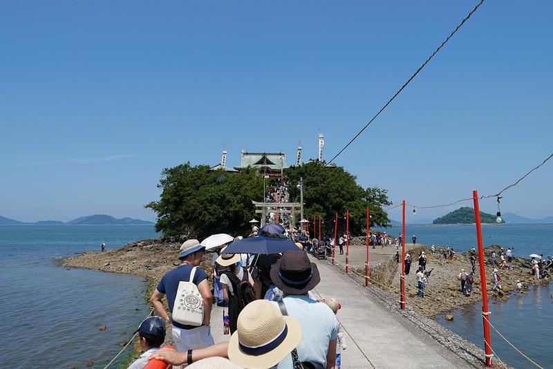 10分ほどかけて津島に到達